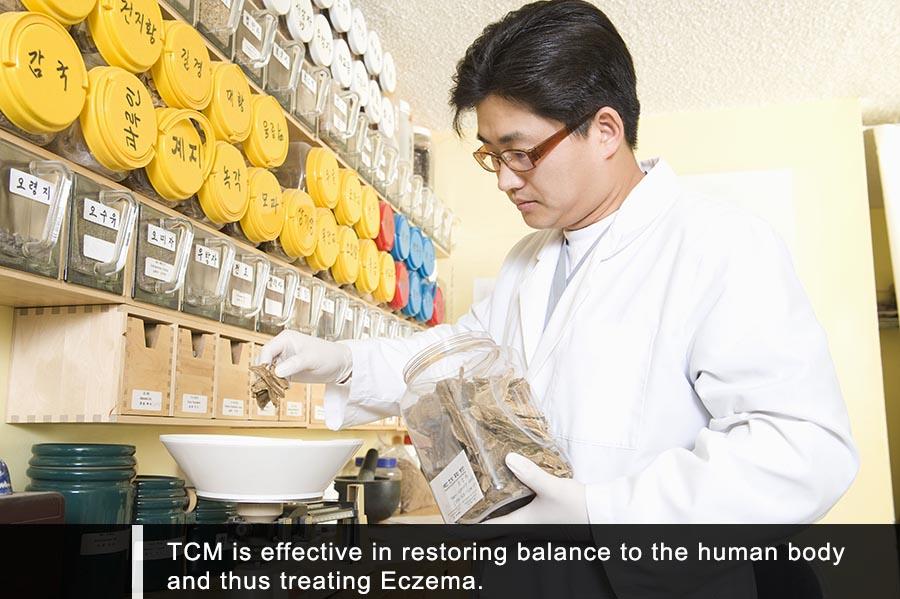 TCM For Skin Eczema