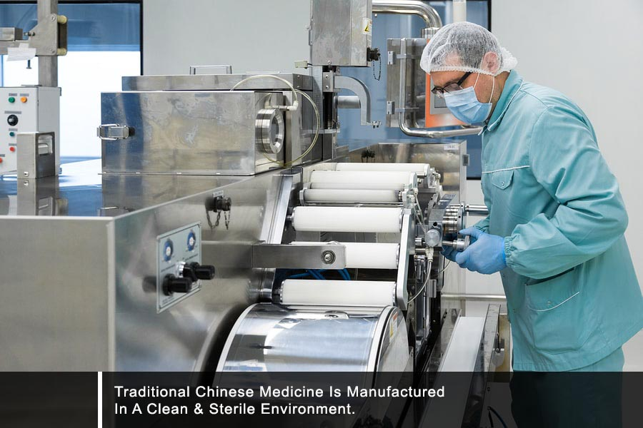 Manufacturing traditional chinese medicine