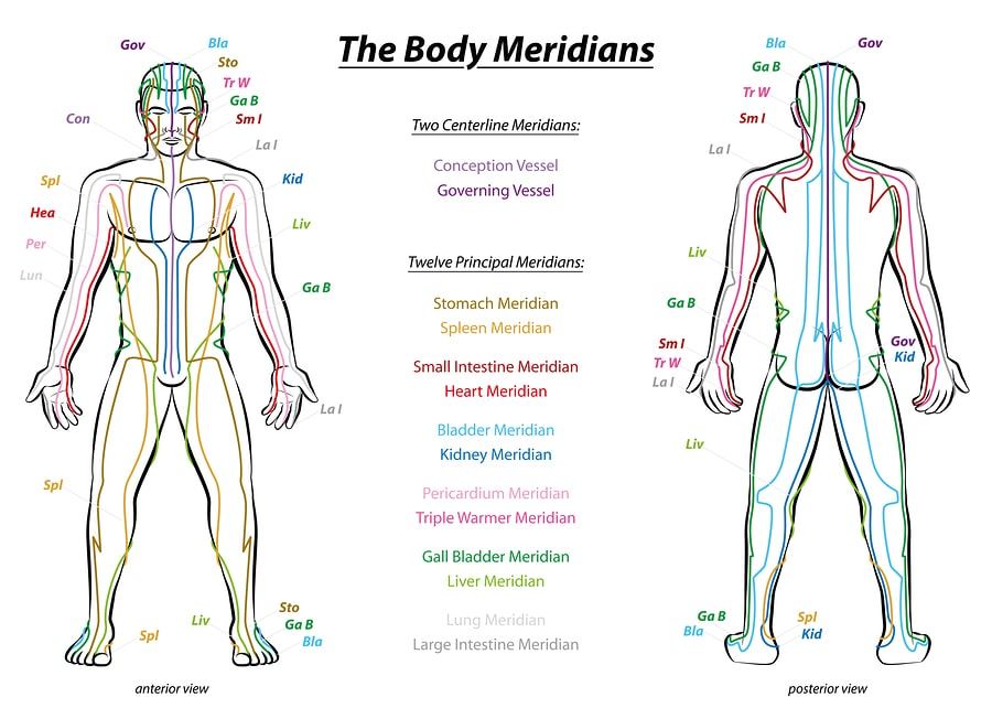 tcm meridians chart